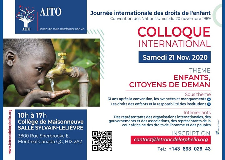 Image pour JOURNÉE INTERNATIONALE DES DROITS DE L'ENFANT CONVENTION DES NATIONS UNIES