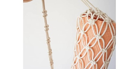 Macrame  Yoga Mat Bag Workshop (spots left!) tickets