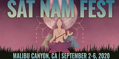 Sat Nam Fest Malibu Canyon, September 2-6, 2020 tickets