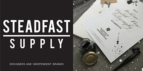 DIY WORKSHOP | INTRO TO MODERN POINTED PEN CALLIGRAPHY tickets