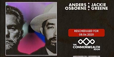 Anders Osborne & Jackie Greene tickets