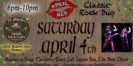 April Red ROCKS PJ Dolan's Irish Pub & Grill in Tampa! tickets