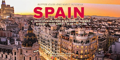 Supper Club: One Night in Vegan Spain tickets