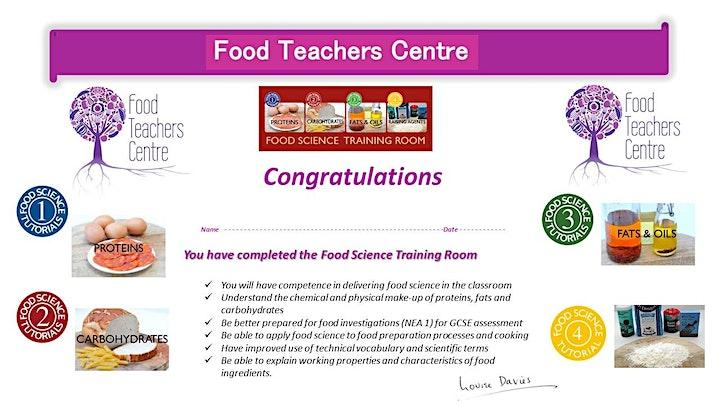 Food Science (On Line Training Room) image