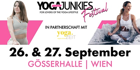 Yoga Junkies Festival | September 26 /27 Tickets
