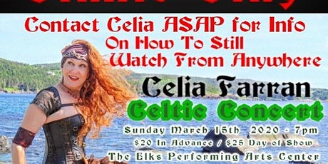 Online Only! Celtic Concert / Live Show Will Be Rescheduled tickets