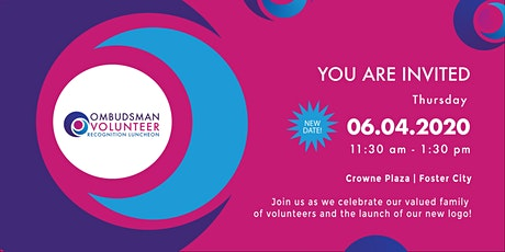 Ombudsman Volunteer Recognition Luncheon tickets