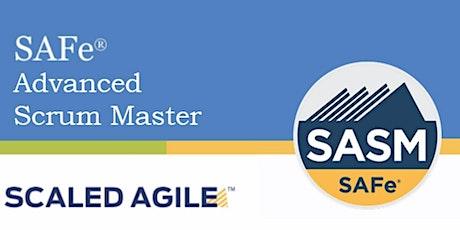 Online SAFe® Advanced Scrum Master with SASM Certification Portland, Maine   tickets