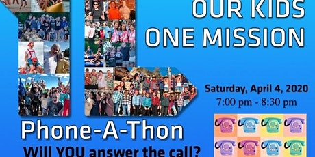 UPDATE PLEASE READ 2020 Young Life Adult Fundraiser... PHONE-A-THON tickets