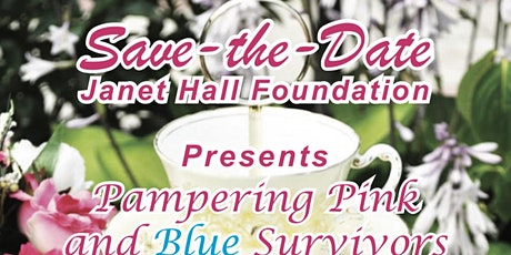 Pampering Pink & Blue Survivors Breast Cancer Fundraiser Annual Spring Tea tickets