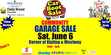 Annual Spring Car Boot Rummage Sale at Westway Christian Church tickets