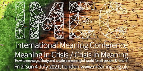 IMEC International Meaning Conference 2-4 July 2021 tickets