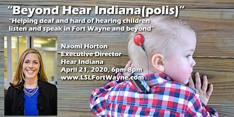 Listening and Spoken Language Association of Fort Wayne - April 21, 2020 tickets