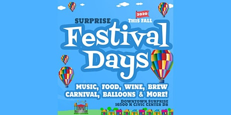 Surprise Festival Days - Fall 2020 tickets