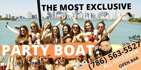#2020 #BOAT PARTY in MIAMI! tickets