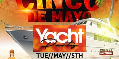 5/5 CINCO DE MAYO FIESTA CRUISE THE NEW YORK CITY @ ART GALLERY YACHT