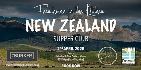 New Zealand Supper Club tickets