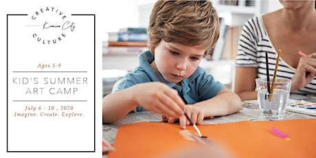 Kid's Summer Art Camp   Ages 5-9 tickets