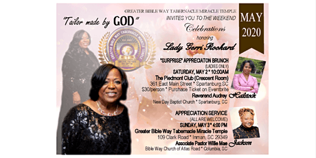 "Lady Gerri Rookard ""Surprise"" Appreciation Brunch tickets"