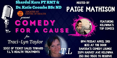 Kara & Coombs presents Comedy for a Cause for Tracy-Lynn tickets