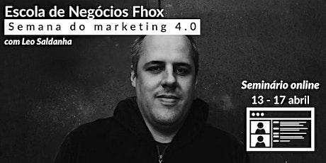Semana do Marketing 4.0 na fotografia com Leo Saldanha bilhetes