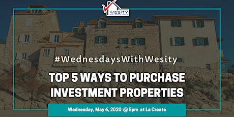 Top 5 Ways to Purchase Investment Properties tickets