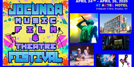 JOCUNDA MUSIC, FILM & THEATRE FESTIVAL - Saturday, April 25th tickets