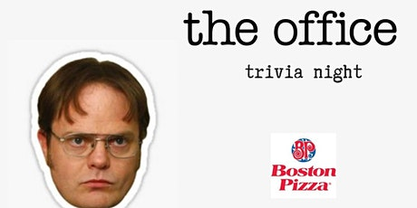 The Office Trivia Night - 3 Nights to play! - Queensway tickets