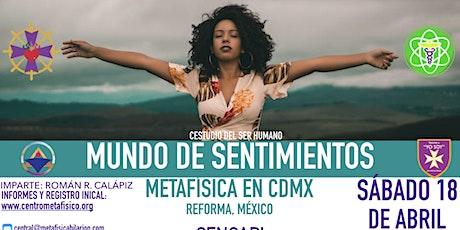 MUNDO DE SENTIMIENTOS: Metafísica en CDMX entradas