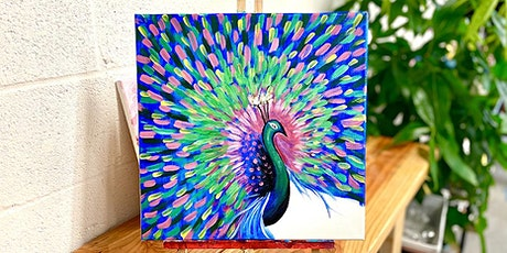 THINGS TO DO -PAINT & SIP EVENT: PEACOCK tickets