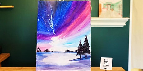 THINGS TO DO -PAINT & SIP EVENT: AURORA tickets