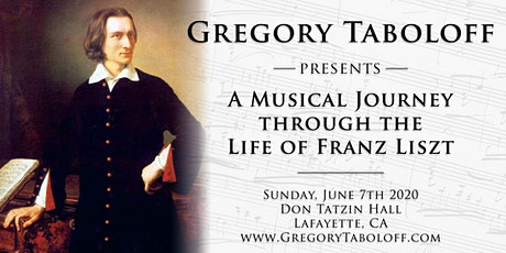 """A  Musical Journey through the Life of Franz Liszt"" tickets"