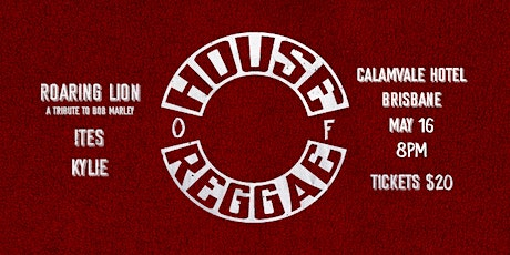 House of Reggae tickets