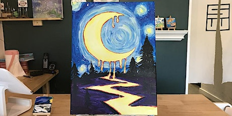 THINGS TO DO-PAINT & SIP: THE MOON TONIGHT tickets
