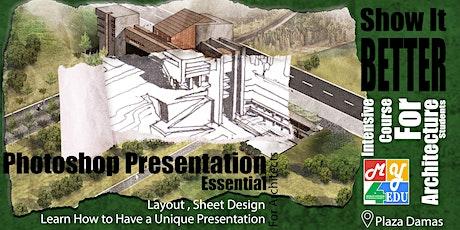 Photoshop Presentation Essentials for Architects tickets