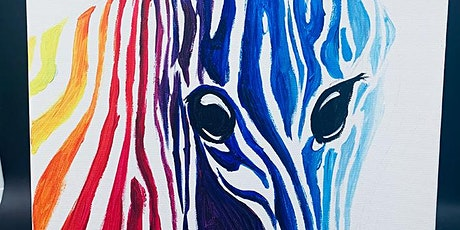 THINGS TO DO -PAINT & SIP EVENT: ZEBRA tickets