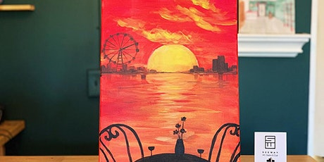 NIGHTLIFE -PAINT & SIP EVENT: FIERY SUNSET tickets