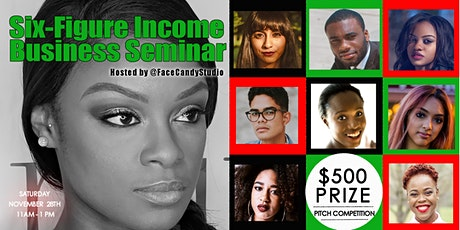 Six-Figure Income Business Seminar and Mixer tickets