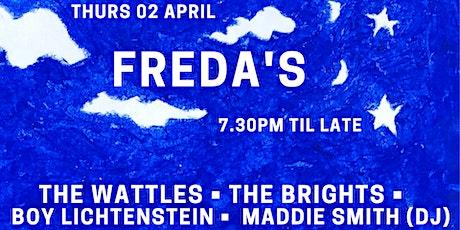 Single launch w The Brights, Boy Lichtenstein, Maddie Smith tickets