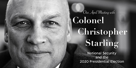 RWSF April Meeting with Colonel Christopher Starling tickets