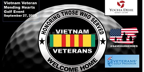 Veteran's Mending Hearts Golf Event,  09/27/2020, Yocha Dehe Golf Club tickets