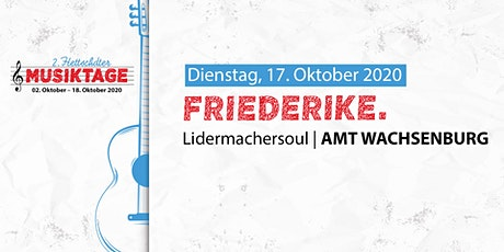 2.HMT: friederike. Tickets