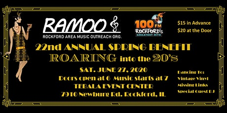 22nd RAMOO Annual Spring Benefit tickets