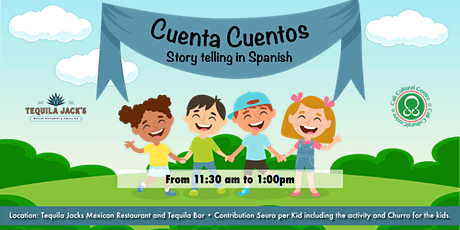 Cuenta Cuentos - Story Telling in Spanish tickets