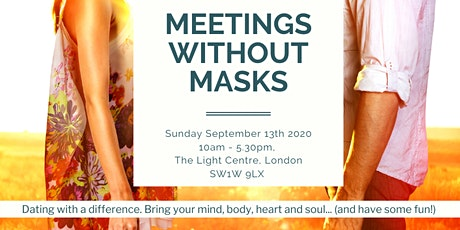 Meetings Without Masks (London) September 13 2020. Created by Jan Day. tickets