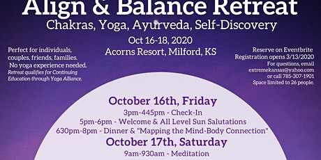 Align & Balance Retreat (Chakras, Yoga, Ayurveda & Self-Discovery) tickets