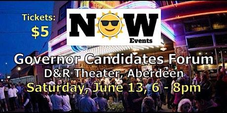 Governor Candidate Forum in Aberdeen, WA on 6/13/2020 tickets