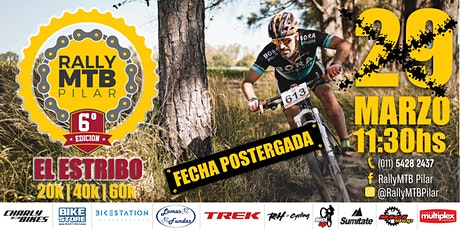 Rally MTB Pilar - 6ª edición - El Estribo entradas