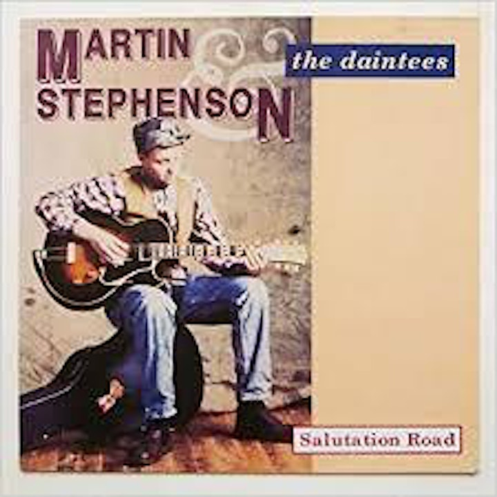 An Evening With Martin Stephenson. image