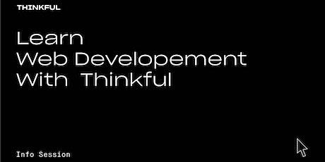 Thinkful Webinar   Learn Web Development With Thinkful tickets